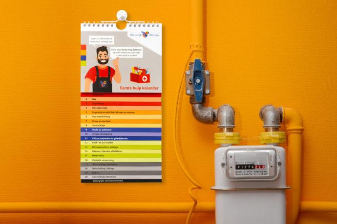 Eerste hulp kalender KleurrijkWonen