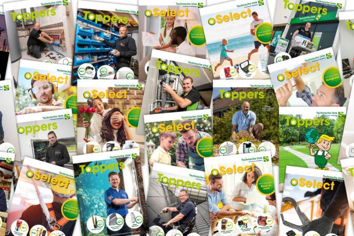 Veel mooie TU-magazines op de teller